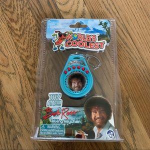 Bob Ross keychain